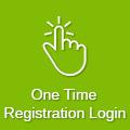 One Time Registration