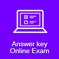 Answerkey Online Exam